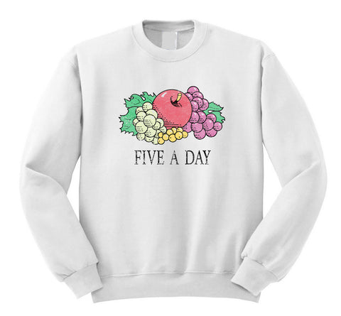 Five a Day Sweatshirt