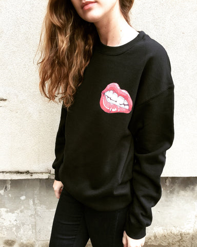 Geo Lips Sweatshirt