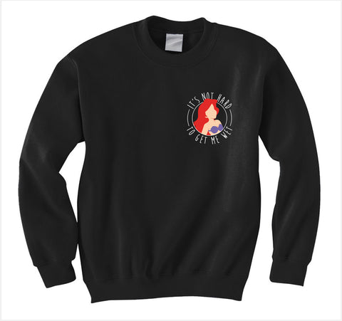 Ariel Get Wet Sweatshirt