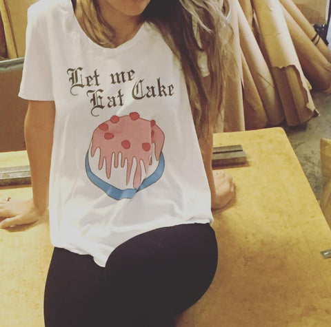 Let Me Eat Cake T-Shirt