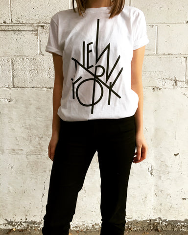 Linear New York T-Shirt