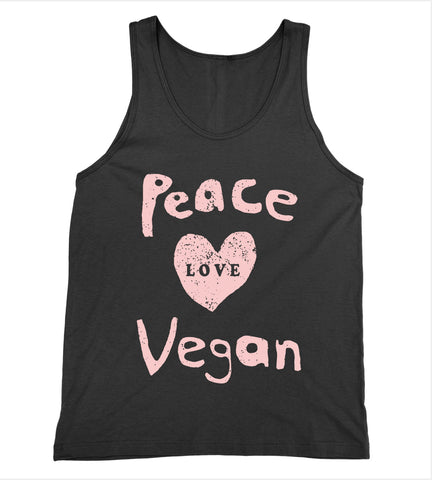 Peace Love Vegan Tank