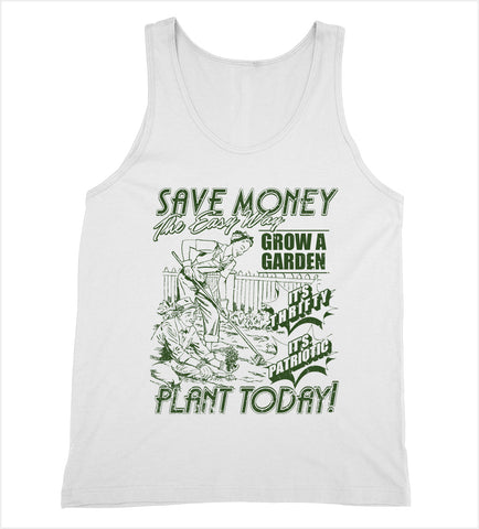 Save Money Plant Today Tank