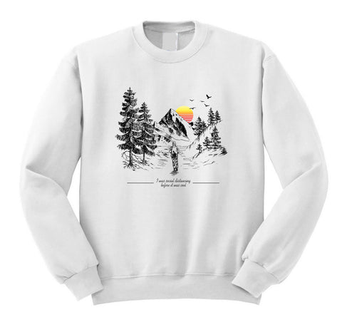 Social Distancing Before It Was Cool Sweatshirt