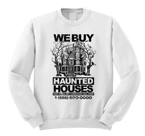 Haunted Houses Sweatshirt