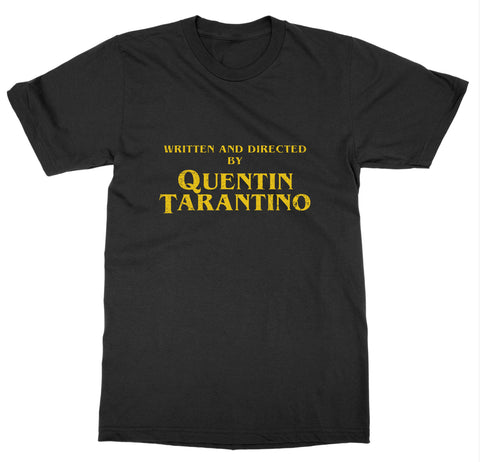 Written and Directed by QT T-Shirt