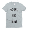 Books and Wine T-Shirt