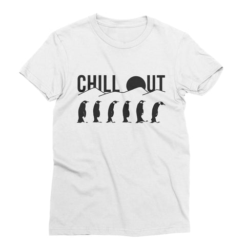 Chill Out Penguin T-Shirt