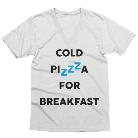 Cold Pizza for Breakfast V-Neck