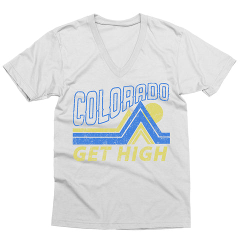 Get High in Colorado V-Neck