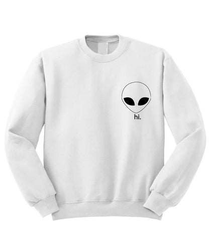 Alien Hi Sweatshirt