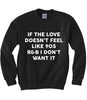 90s R&B Love Sweatshirt