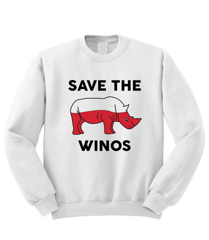 Save the Winos Sweatshirt