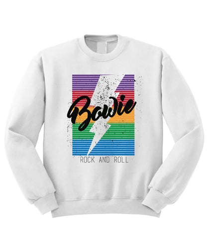 Bowie Rock and Roll Sweatshirt