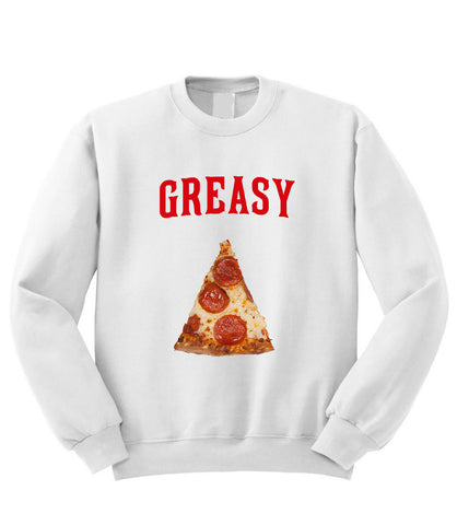 Greasy Pizza Sweatshirt