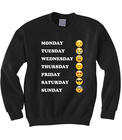 Emoji Week Sweatshirt