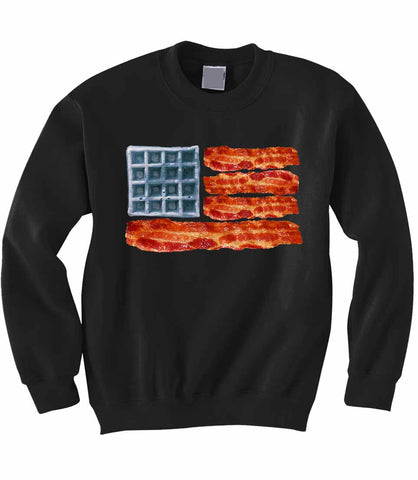 Bacon and Waffles Sweatshirt