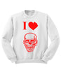 I Love Zombies Sweatshirt