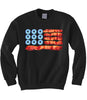 American Food Flag Sweatshirt