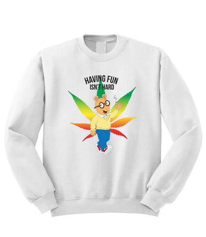 Arthur Having Fun Sweatshirt