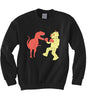 Dino vs. Robot Sweatshirt