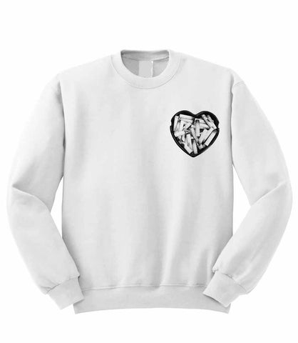 Ashtray Heart Sweatshirt