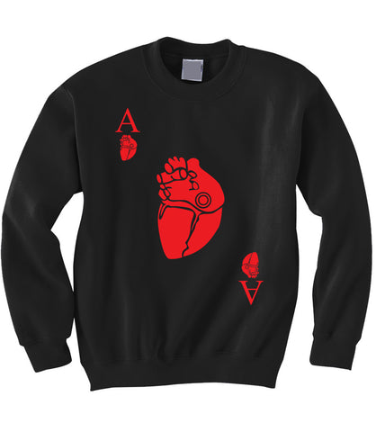 Ace of Hearts Sweatshirt
