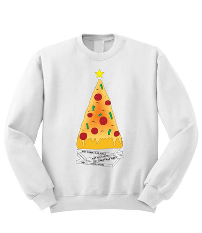 Christmas Pizza Sweatshirt