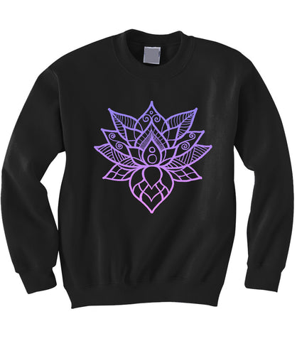 Lotus Flower Sweatshirt