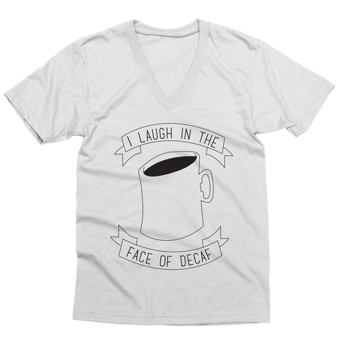Laugh at Decaf V-Neck