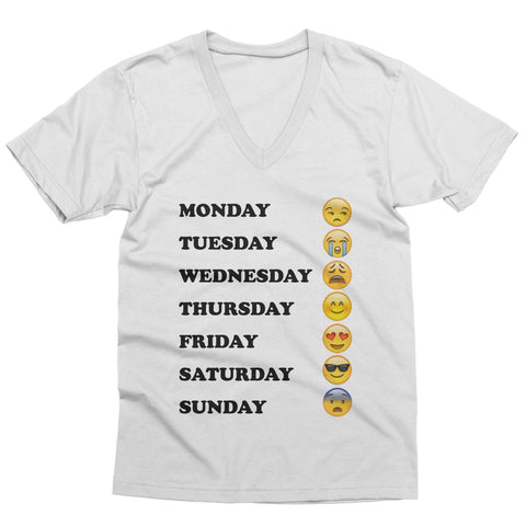 Emoji Week V-Neck