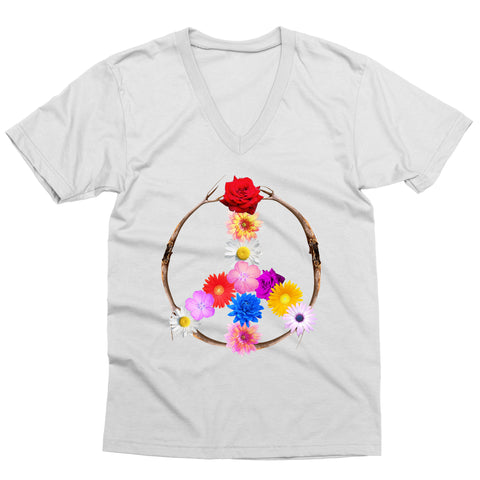 Flower Power V-Neck