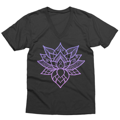 Lotus Flower V-Neck
