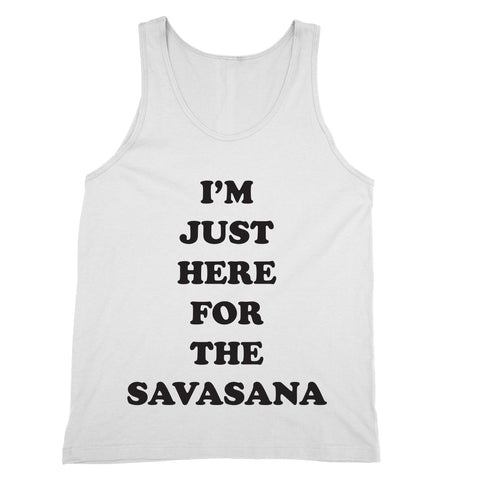 Here for the Savasana Tank