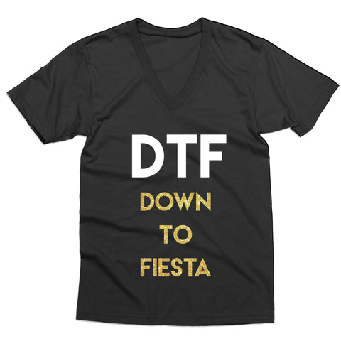 Down to Fiesta V-Neck