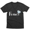 Diamond Fiance V-Neck