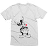 Mickey Reindeer V-Neck