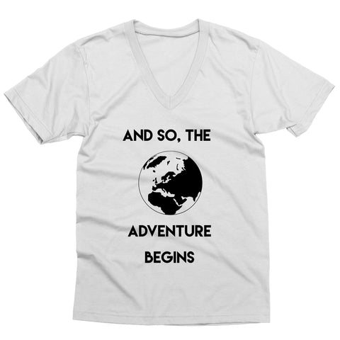Adventure Begins V-Neck