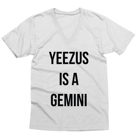 Yeezus is a Gemini V-Neck