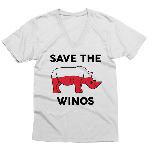 Save the Winos V-Neck