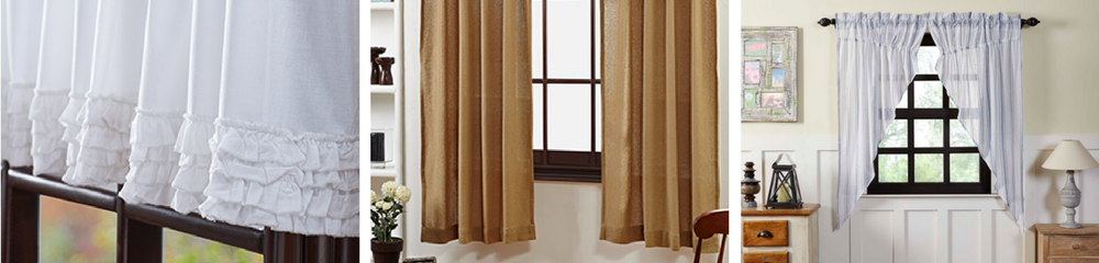 Display Beauty Grace And Elegance In Your Home By Adding Any Of Our Country Curtains To Windows Perfect For Primitive Or Cabin