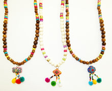 Load image into Gallery viewer, Pom Pom Puff Necklace