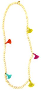 For The Love Of Tassels Necklace