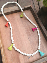 Load image into Gallery viewer, For The Love Of Tassels Necklace