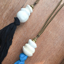 Load image into Gallery viewer, Silk Tassel Necklace