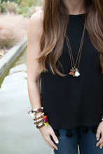 Load image into Gallery viewer, Tassel Tag Necklace