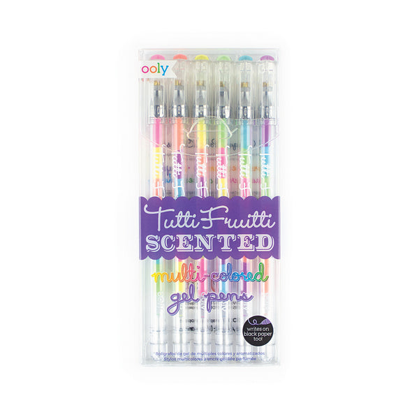 Tutti Fruitti Scented Multi-Colored Gel Pens