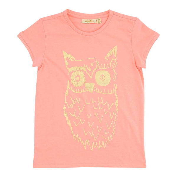 Big Owl Gold T-Shirt 2Y