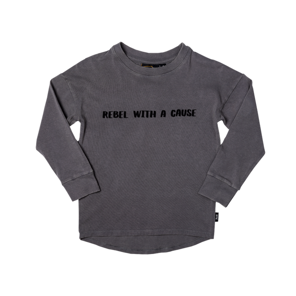 Rebel with a Cause L/S Shirt