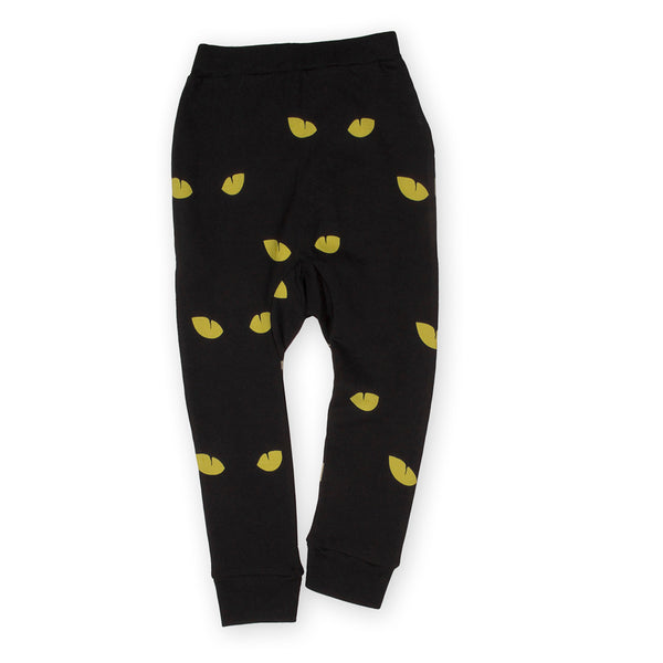 Cat Eyes Slim Sweatpants